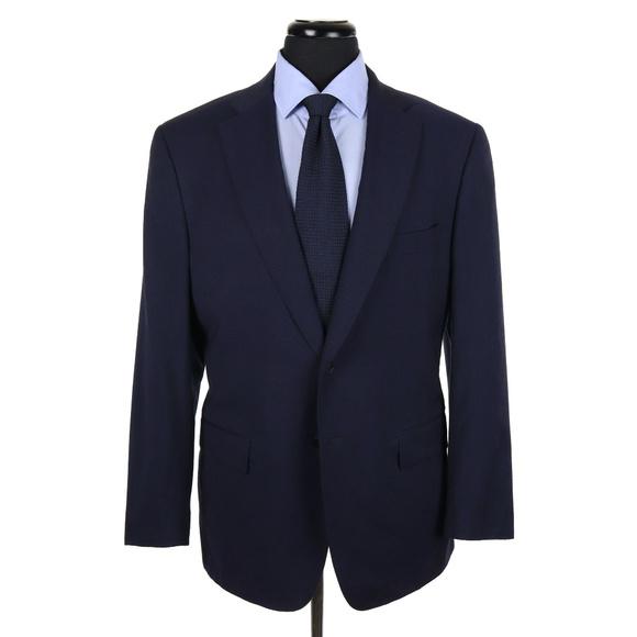 isaia suits blazers napoli argento aqua light sport coat 42r